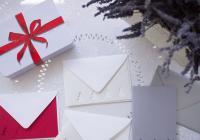 Vánoční přáníčka a jmenovky