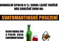 Svatomartinské posezení - Lázně Toušeň