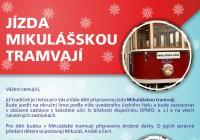 Mikulášská tramvaj v Olomouci