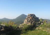 Zřícenina hradu Ostrý, Velemín