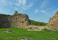 Zřícenina hradu Oparno, Velemín