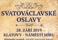 Svatováclavské oslavy - Klatovy