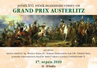 Mezinárodní výstava vín Grand Prix Austerlitz 2019