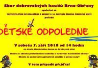 Dětské odpoledne - Brno Obřany