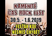 Kamenité Čas rock fest 2019 - Vyšní Lhoty