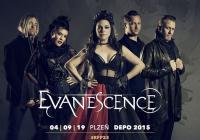Evanescence v Plzni