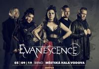 Evanescence v Brně