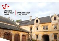 Speciální komentované prohlídky na zámku Hrádek u Nechanic