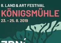 Land Art setkání Königsmühle 2019