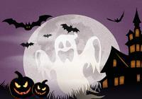 Halloweenské bátky - Fontána Karlovy Vary