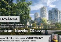 Veřejná debata o přeměně bývalého Telecomu na Centrum Nového Žižkova