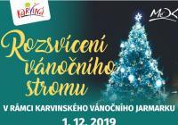 Rozsvícení vánočního stromu - Fryštát