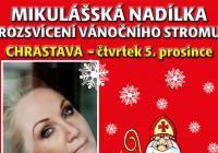 Rozsvícení vánočního stromu s Mikulášem - Chrastava