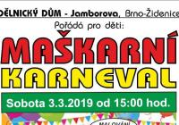 Karneval pro děti - Brno Židenice