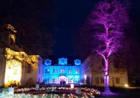 Světelná a hudební show každý den na zámku Loučeň