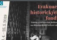 Evakuace historických fondů Zemské a univerzitní knihovny  na sklonku 2. světové války