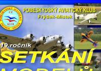 Setkání modelů letadel na letišti Bahno u Frýdku-Místku