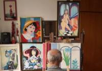 Karel Benetka / Obrazy a kreslený humor