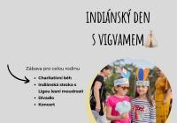 Indiánský den s Vigvamem