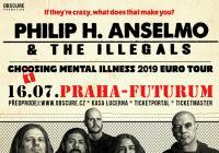 Philip H. Anselmo & The Illegals v Praze