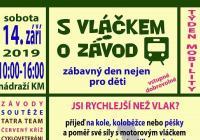 S vláčkem o závod - Kroměříž