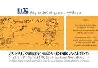 Jiří Hiršl - kreslený humor, Zdeněk Janas - texty