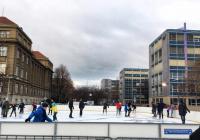 Kluziště na Vítězném náměstí - Praha