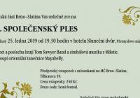 Společenský ples - Brno Slatina