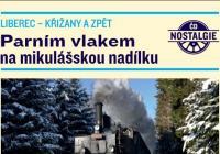 Parním vlakem na mikulášskou nadílku - Liberec
