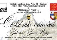 Česká mše vánoční J. J. Ryby na Pražském hradě