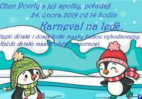 Karneval na ledě - Zimní stadion Povrly