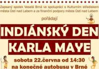 Indiánský den Karla Maye - Brná Ústí nad Labem