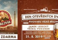 Den otevřených dveří v pivovaru ve Velkém Březně