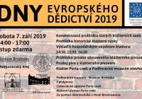 Dny evropského dědictví 2019