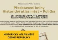 Představení knihy Historický atlas měst – Polička