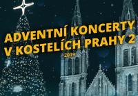 Adventní koncerty v kostelích Prahy 2
