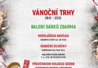 Vánoční trhy v Olympii Mladá Boleslav