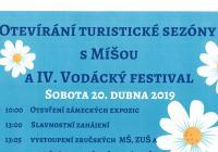 Otevírání turistické sezóny s Míšou a IV. Vodácký festival