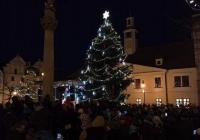 Rozsvícení vánočního stromu - Louny