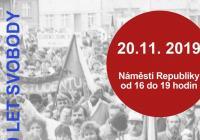 17. listopad - náměstí Republiky Mladá Boleslav