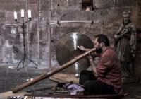Ondřej Smeykal a didgeridoo