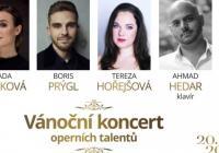 Vánoční koncert operních talentů