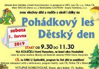 Pohádkový les a Den dětí - Liberec Horní Hanychov