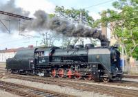 Jízdy parních vlaků a motoráčku Prahou
