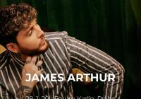 James Arthur v Praze