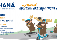 Podzimní sportování - Obchodní centrum Haná Olomouc
