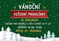 Vánoční večerní prohlídky - Zoo Jihlava
