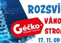 Rozsvícení vánočního stromu - Géčko Ostrava