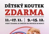 Dětský koutek zdarma - Obchodní centrum Galerie Ostrava