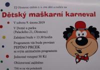 Karneval pro děti v Olomouci